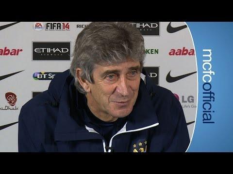 PELLEGRINI ON FA CUP: Blackburn Rovers v City FA Cup Preview Part 1