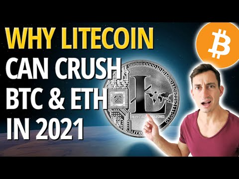 LITECOIN: BETTER Than Ethereum \u0026 Bitcoin In 2021! Massive Potential For Huge Gains!!