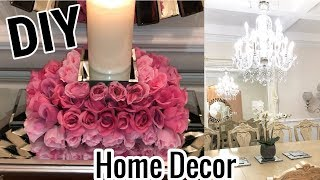 DIY MIrrored Wall Home Decor Ideas with Dollar Tree Items
