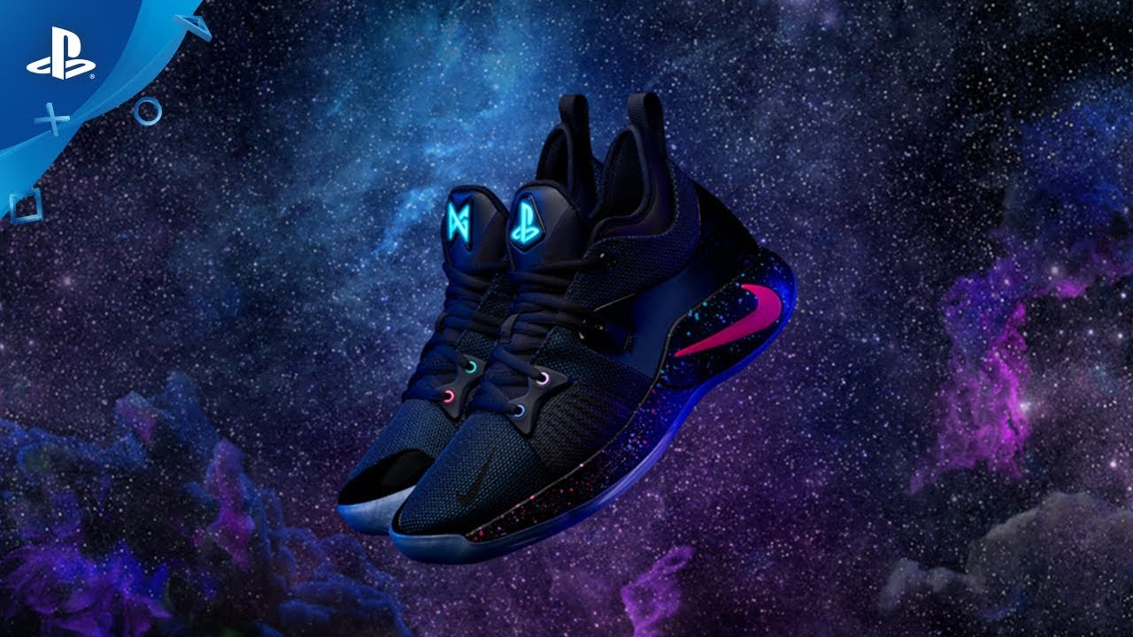 free shipping e7f7b 8b2ac Nike PG-2 PlayStation Colorway | Announce Video