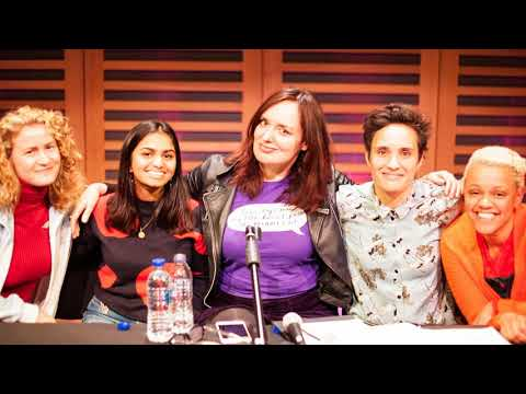 The Guilty Feminist episode 77 Period Poverty with Gemma Cairney, Amika George, Grace Campbell