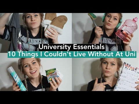 University Essentials - 10 things I couldn't live without at Uni | University Guide