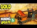 BUILDING A NEW EPIC $1,000,000,000 GOLD MINE | New Equipment Update | Gold Rush The Game Gameplay