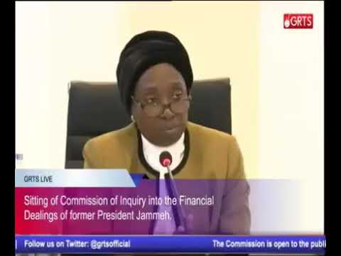 Gambia - The 62ND Sitting Of The Commission Of Enquiry (Part 3)
