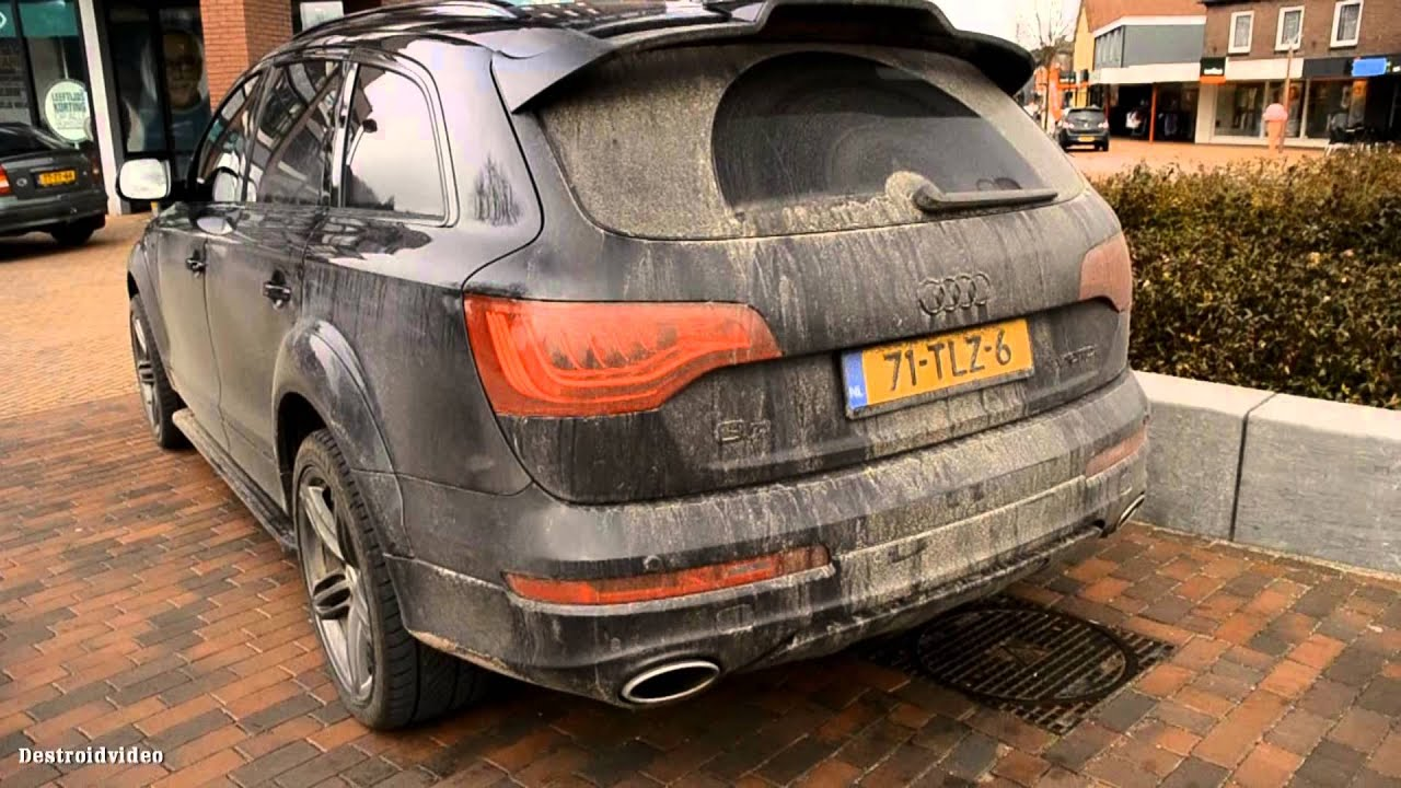 2012 Audi Q7 V12 TDI S-line ABT overview and start-up [HD ...