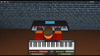 My Dearest - Guilty Crown by: Supercell/Ryo on a ROBLOX piano. [Easy]