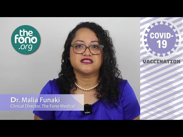 COVID 19 Vaccince Message Video 1   Dr Malia