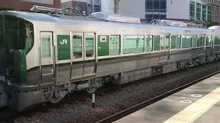DE10-1561+227系1000番台(甲種輸送列車6B)兵庫駅解放・機回し・連結風景