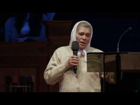 Полищук Женя - свидетельство об исцелении