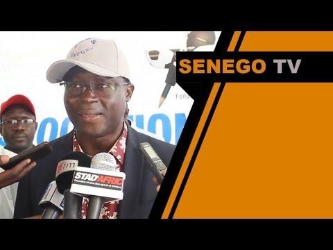Senego TV  Senghor en visite a la maison de la presse