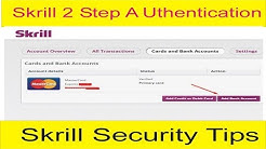 skrill security Two Step Authentication ! Security Tips of Skrill in Urdu and Hindi By Tani Forex