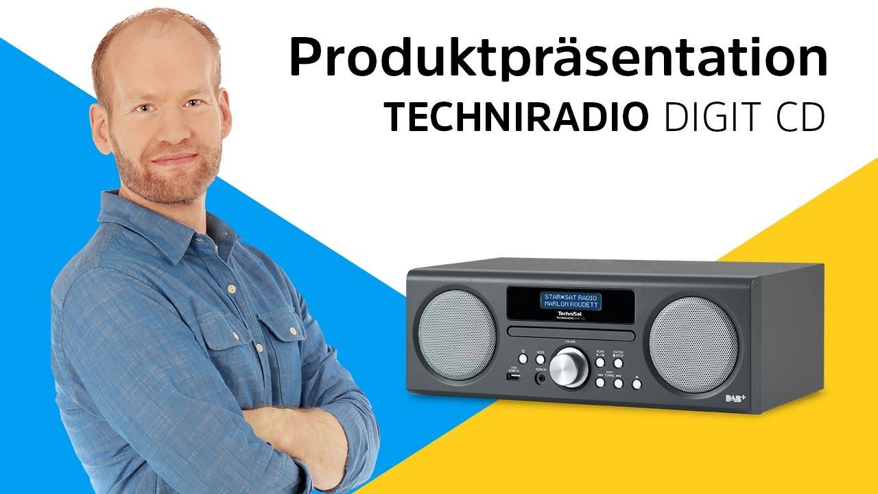 Video: TECHNIRADIO DIGIT CD | Produktpräsentation | TechniSat