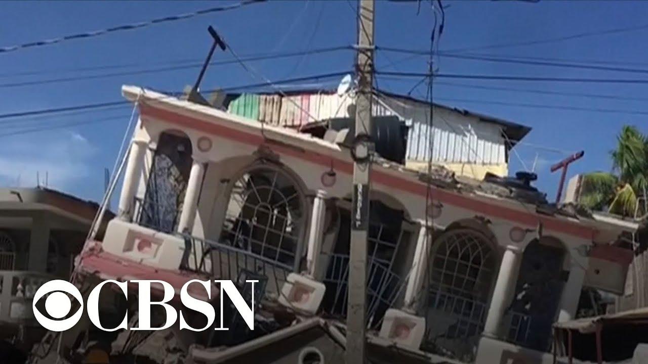 Haiti: 7.2 Magnitude Earthquake Hits; 1,297+ Dead