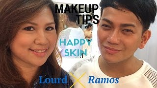 Makeup Tips by Lourd Ramos using Happy Skin || Busyqueenphils Beauty Vlog
