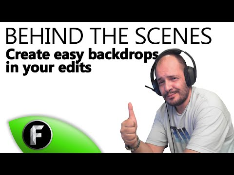 Create easy backdrops! ► Behind the Scenes