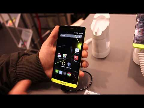 MWC 2015: Archos 50 Diamond hands-on by GizChina.it