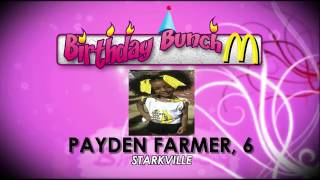 Birthday Bunch 1/17/17