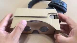 Google Cardboard V2.0 Pop-Tech 3D Virtual Reality Glasses