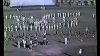 Leesville Wampus Cat Marching Band 1988-89