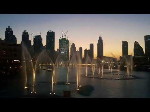 The Dubai Fountain | Dubai Mall | #1