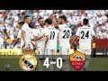 Real Madrid Vs Roma 4-0 - All Goals & Extended Highlights - Last Matches
