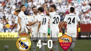 Real Madrid vs Roma 4-0 - All Goals & Extended Highlights - Last Matches HD