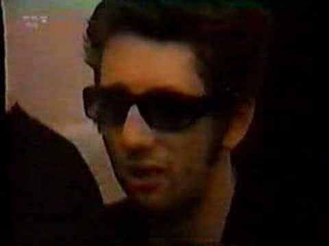 Shane MacGowan on the Snake Tour 1994 German TV Report