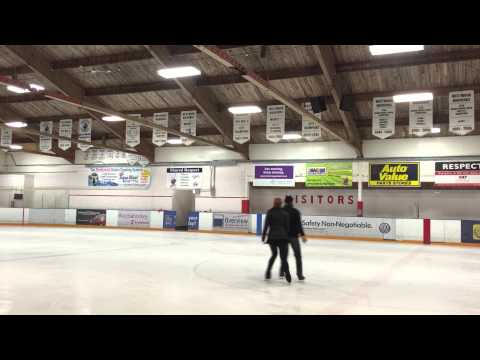 Ice  prep! Christa J Denton and Wendell Mcgrath