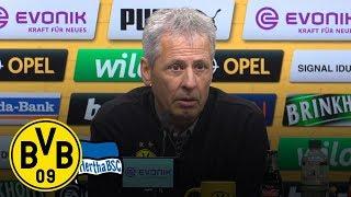 Sancho-Doppelpack gegen Berlin | PK mit Lucien Favre | BVB - Hertha BSC 2:2
