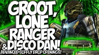 COD AW: GROOT, LONE RANGER & DISCO DAN!! ADVANCED SUPPLY DROP OPENINGS!!