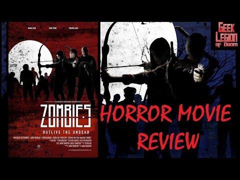 ZOMBIES ( 2017 Tony Todd ) Horror Movie Review