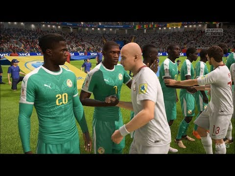 2018 FIFA World Cup Russia - Poland vs Senegal - Gameplay (HD) [1080p60FPS]