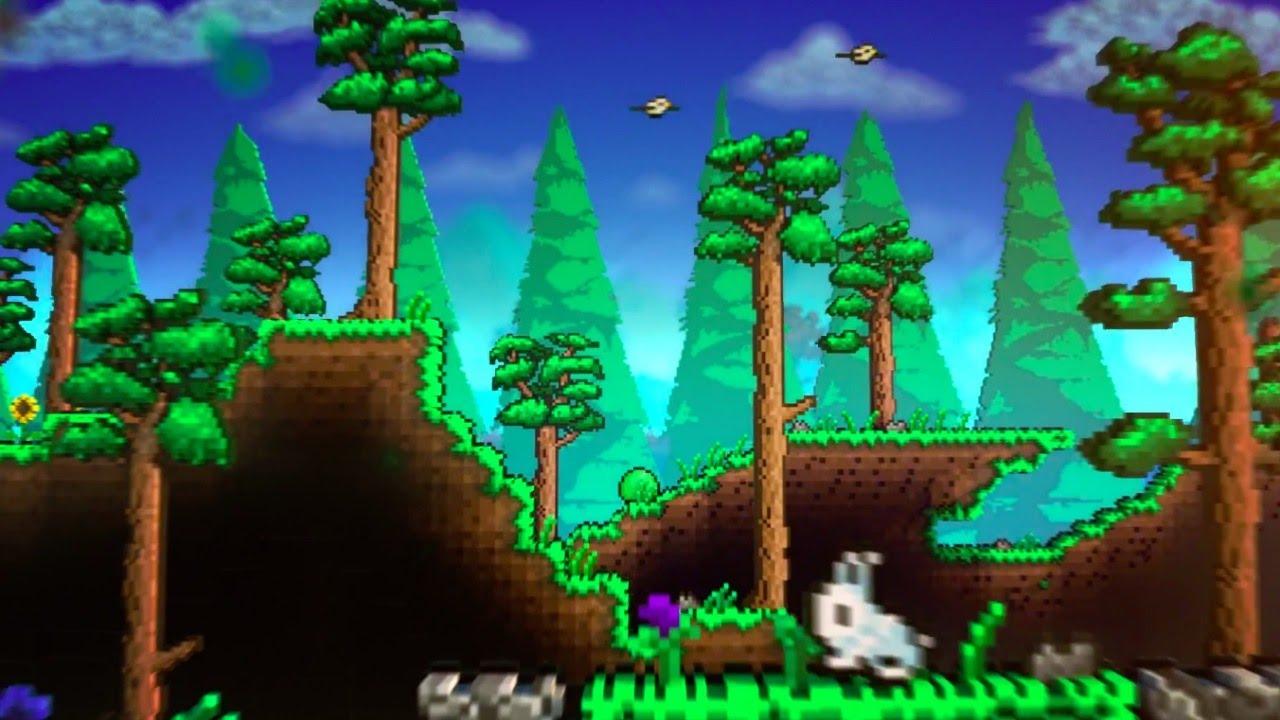 Terraria PS Xbox One Launch Trailer YouTube - Minecraft terraria spielen