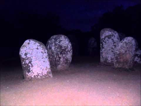 Oct 5 2014 Almendres Cromlech Dolmen visit Portugal