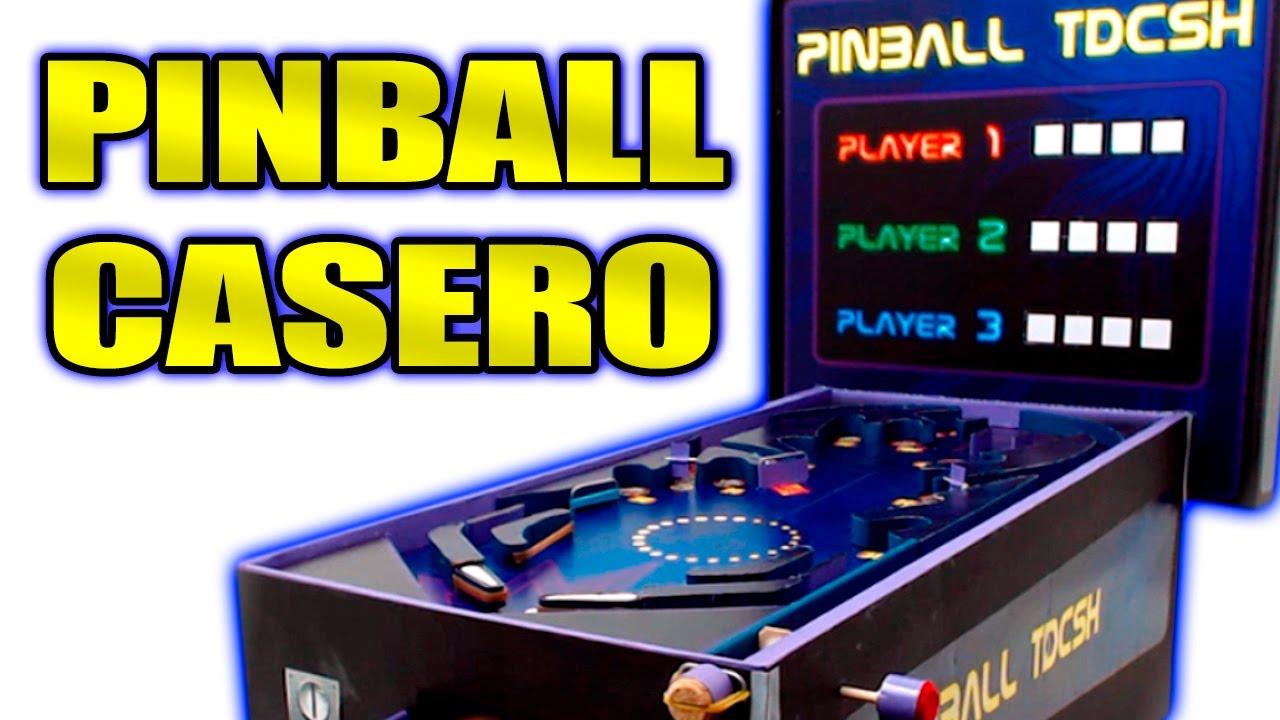 Máquina De Pinball Casera Para Canicas Cómo Se Hace Te Digo Cómo Youtube