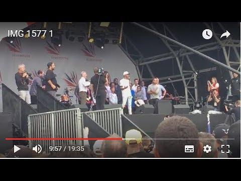 Lewis Hamilton Silverstone Arena GP Champion interview 2017