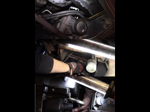 98 Chevy 2500 leaking oil - diagnose oil leak(s) and replace oil cooler lines