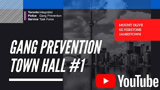 Toronto Police Service - Gang Prevention Town Hall #1 - Mount Olive - Silverstone - Jamestown