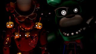 NIGHTMARE REACTS TO: [SFM FNAF] Scrap YouTuber Animatronic Salvages!!!