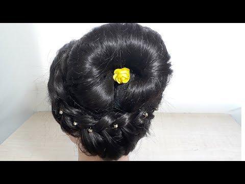 दिवाली के लिए ये जूड़ा Hairstyle सीखें वो भी 5 मिनिट में   BeautyZing