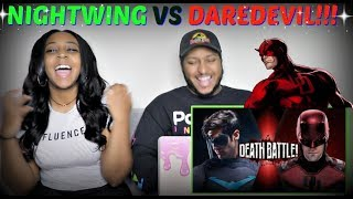 "ScrewAttack ""Nightwing VS Daredevil DEATH BATTLE"" REACTION!!!"