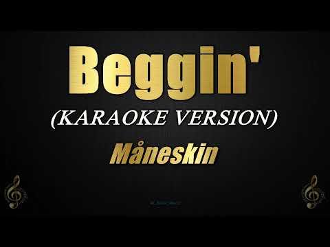 Beggin' - Måneskin (Karaoke/Instrumental)