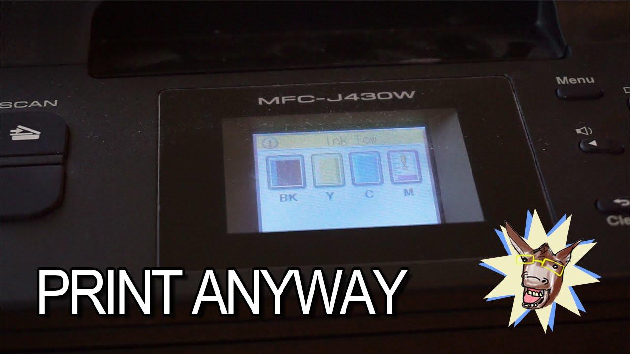 how to make brother printer print darker