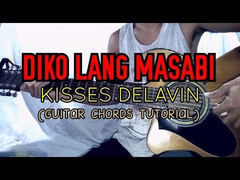 Di Ko Lang Masabi - Kisses Delavin (Easy Guitar Tutorial) - YouTube