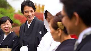 歴史ある日本庭園で叶える和婚