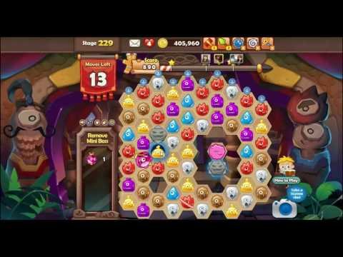[Monster Busters: Hexa Blast] stage 229