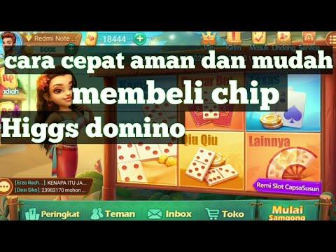 Membeli Chip Higgs Domino Cepat Aman Dan Mudah Youtube