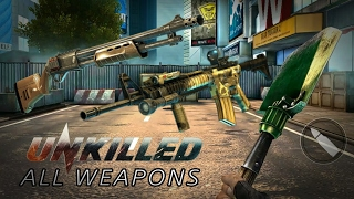 UNKILLED All weapons   Sounds and reload animations   YizazFénix