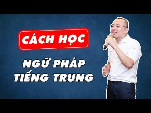 hướng dẫn cách học ngữ pháp tiếng Trung