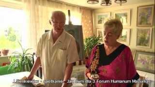 Janusz Sienkiewicz - rozmowa wokół twórczości w domu artysty - materiał filmowy III FHM 3